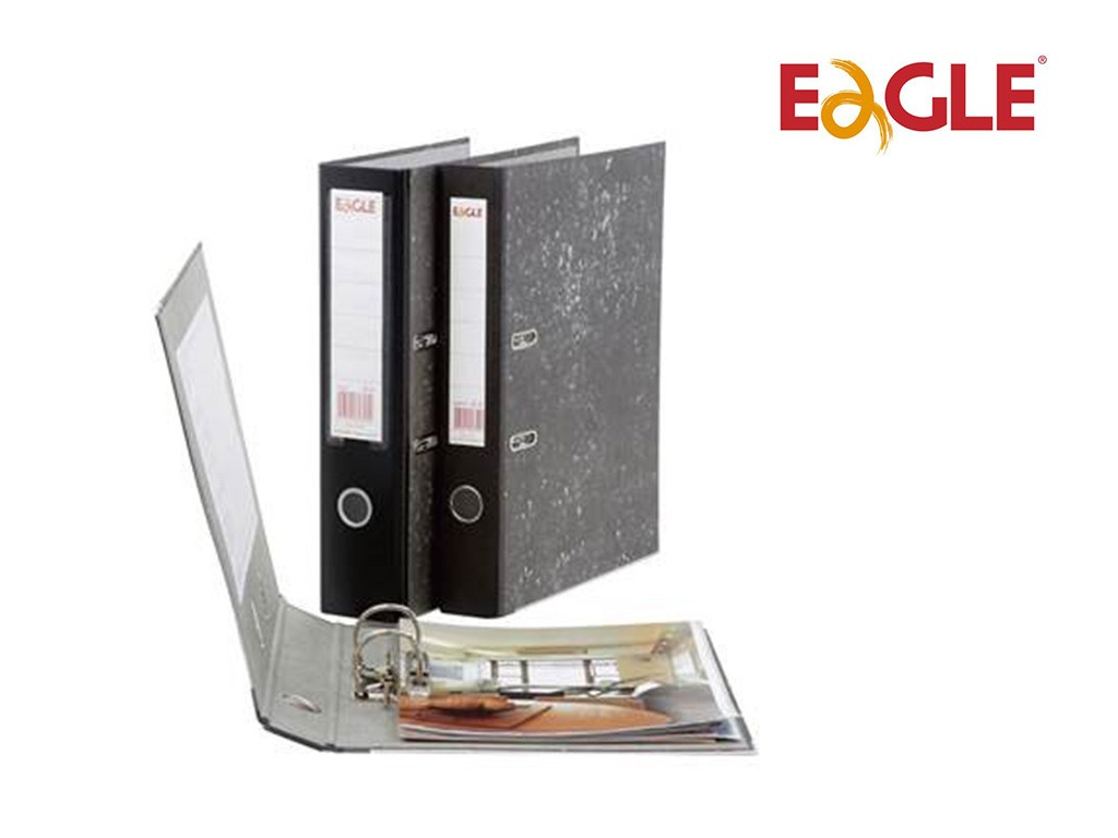 Eagle - Marble Lever Arch File 2in F4