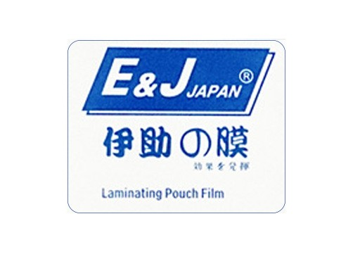 E J - Laminating Film 55mmx85mm 100mic