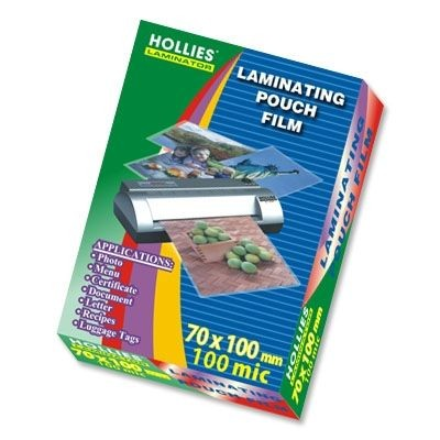 Hollies - Laminating Film - ID Card 100mic