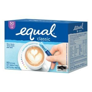 Equal - Sugar Sachets 50s