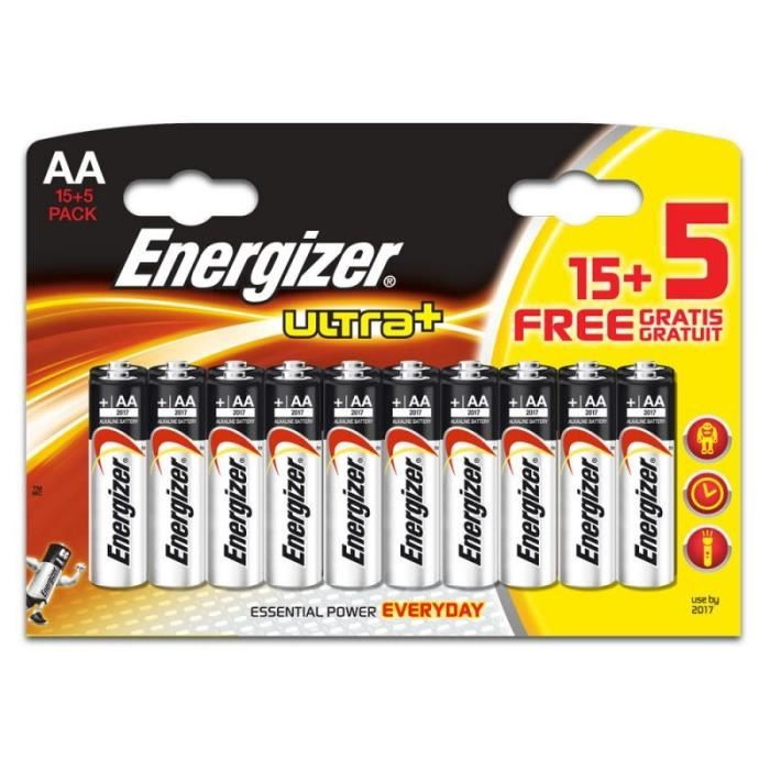 Energizer - 2A AlkaLine Battery (15s+5s)