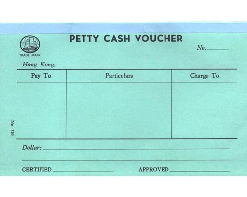 Account Voucher English - 319 - Petty Cash