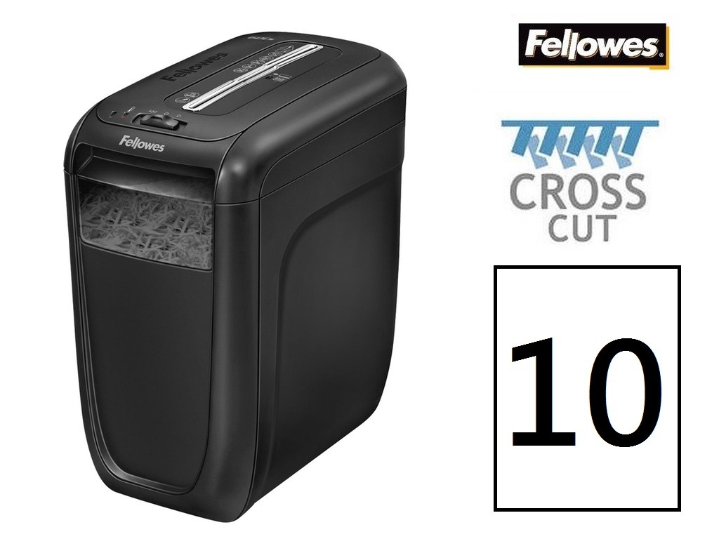 Fellowes - 60CS - Cross Cut Shredder