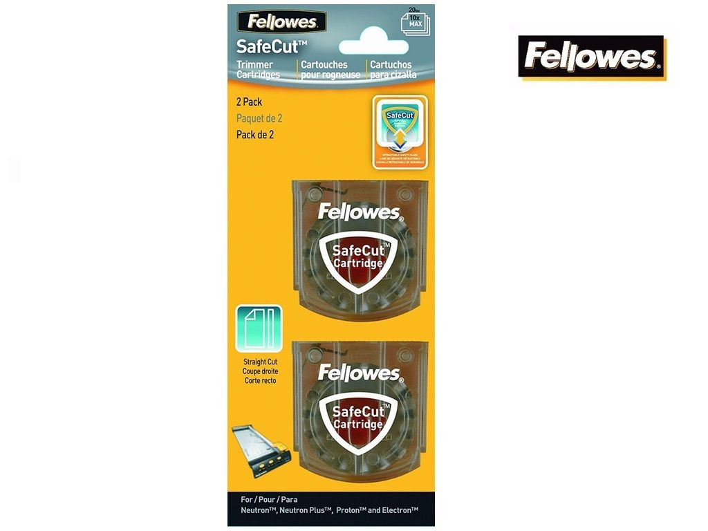 Fellowes - SafeCut Straight Cut Blades 2s