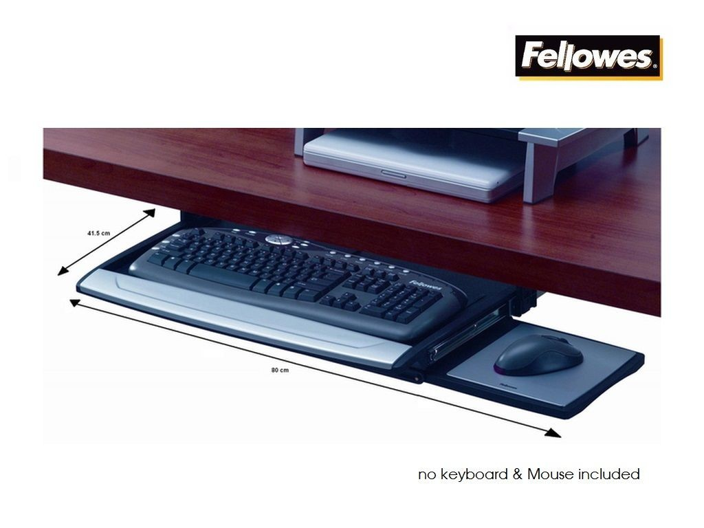 Fellowes - FW8031201 - Underdesk Keyboard Drawer