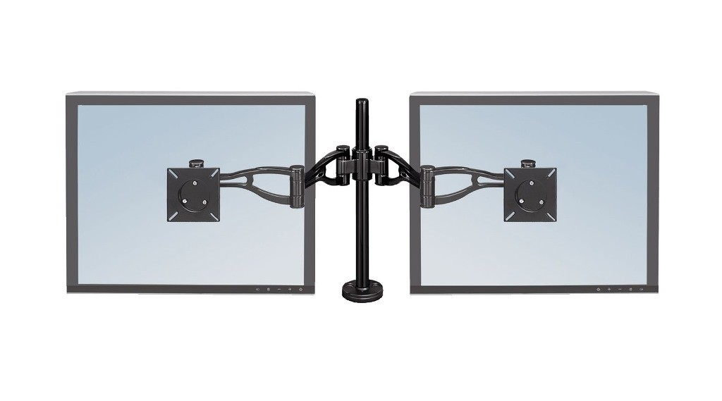 Fellowes - 8041701 - Professional Series Depth Adjustable Daul Monitor Arm