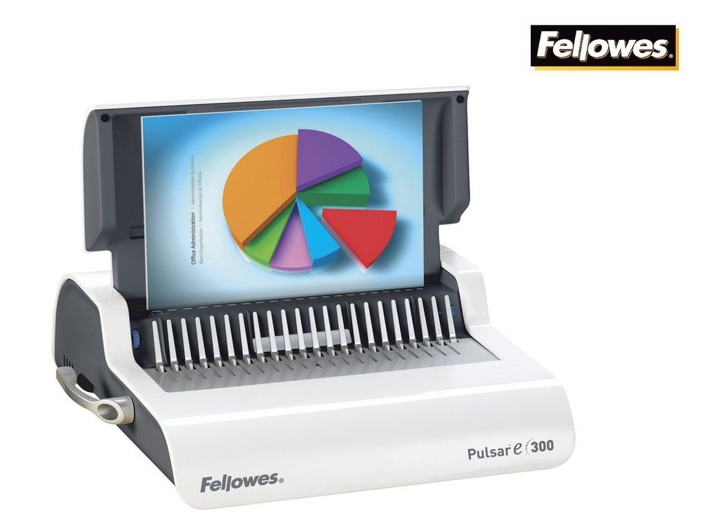 Fellowes - Pulsar E-300 - Electric Plastic Comb Binder