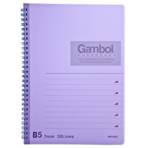 Gambol - DS1798 - PP Cover Spiral Book B5 (80pages)