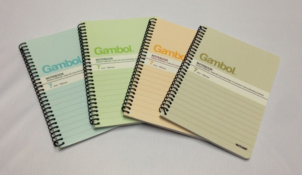 Gambol - SA6506Y - String Note Book A6 (50page)