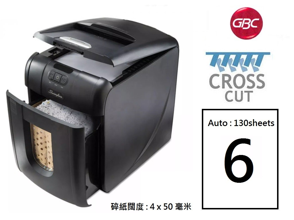 GBC - Auto 130X - Electric Shredder