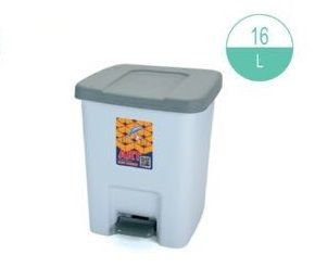 (#)ART - 418 - Square Bins with Cover 16L