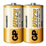 GP - C size Ultra AlkaLine Battery (2s)