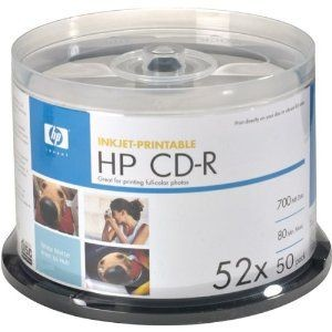 HP - CD-R 52X 700MB/80Min 50s