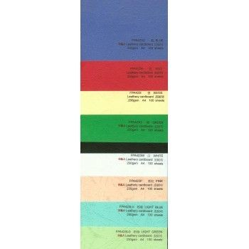 Godex - GX450A-13 - Leather Paper Binding Cover 230G  A4