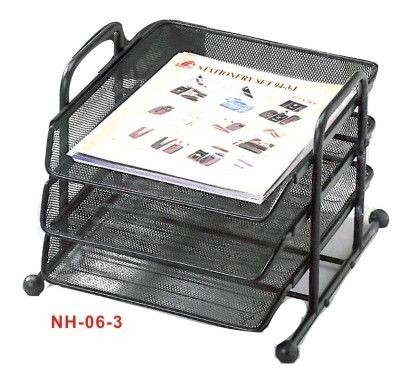 Golden Horse - NH-06 - 3 Levels Document Mesh Tray
