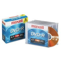 Maxell - DVD+R Data 4.7GB 8x/16x 1s