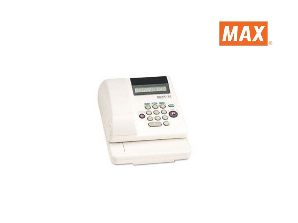 (#)Max - EC70 - Checkwriter