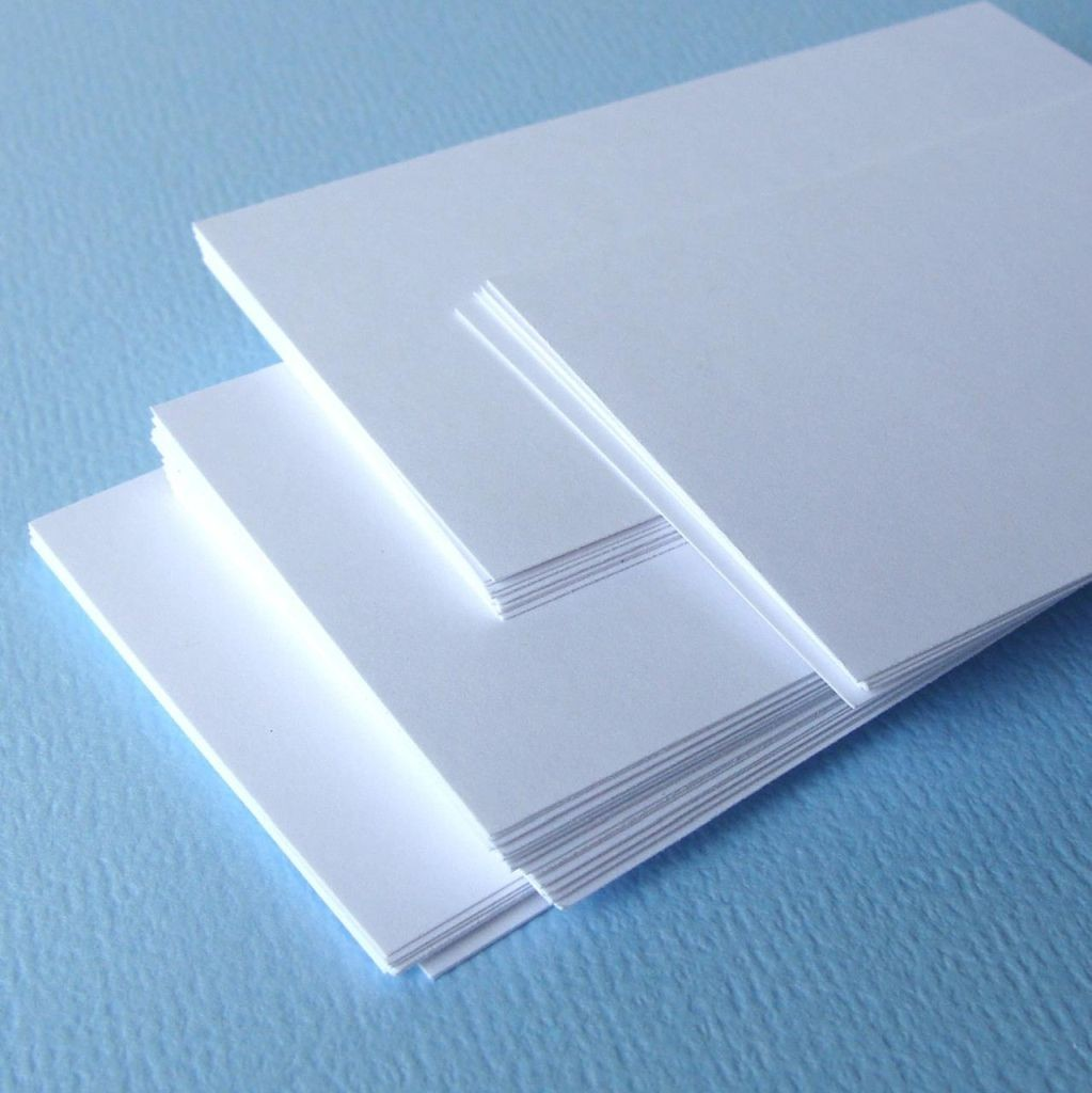 No.9 Blank Card 2.5 x 3in 230g