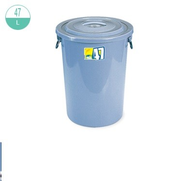 (#)2212 Round Pail  without Lid 47L