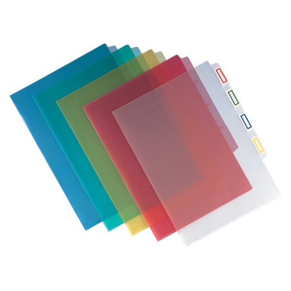 Database - E-356 - Plastic Folder 4-Layer A4 <Clear>