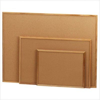 Corkboard Wooden Frame 1x1.5ft