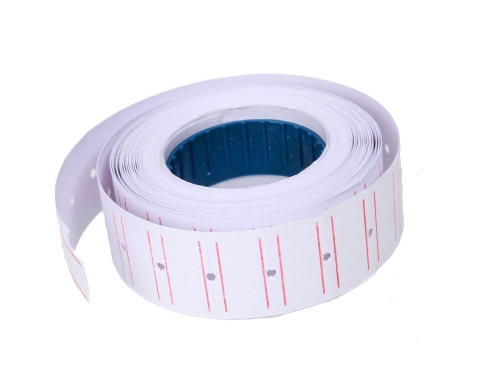Price Label <Red Line> (around 800s-900s/roll. 10roll/tube)