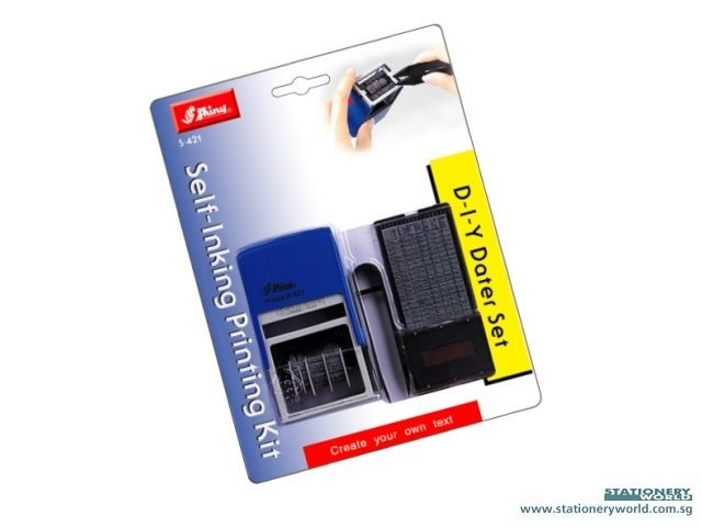 Shiny - S-421 - DIY Self Inking Dater Chop