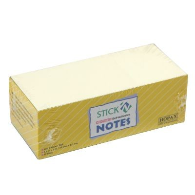 StickN - 21005 - Stick Note 1.5inx2in <Yellow> 12s