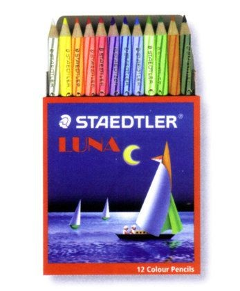 Staedtler - 13701C12 - Luna Color Pencil (Short) 12pc