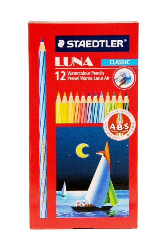 Staedtler - 13710C12H - Luna Color Pencil 12s