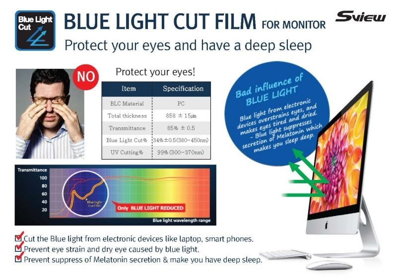 Sview - 125W9 - Blue Light Screen Filter