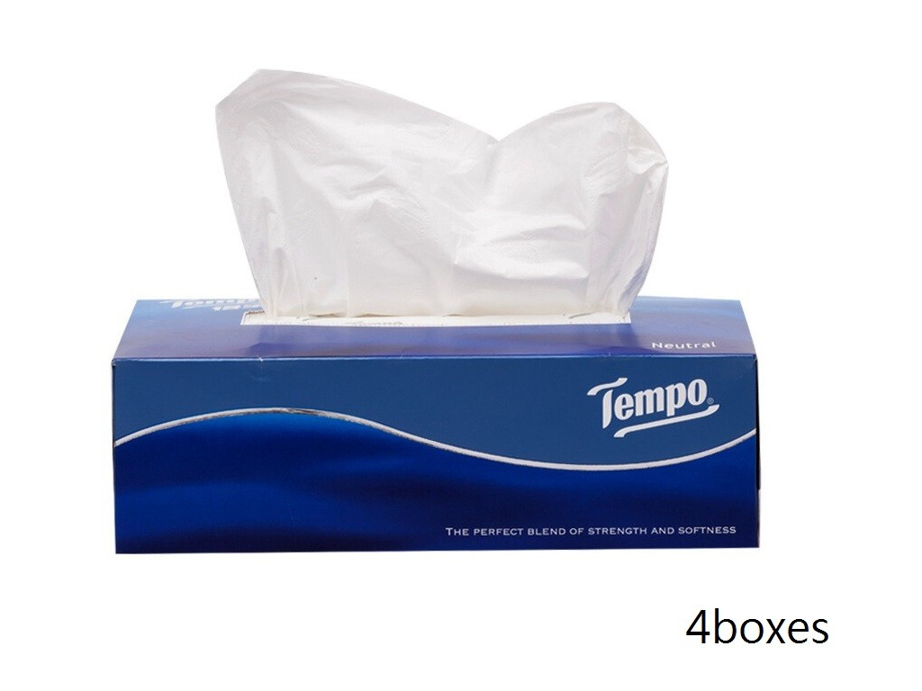 Tempo - Box Facial 4 Boxes