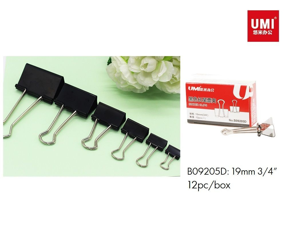 Umi - B09205D - Foldback Clip - 3/4in 19mm 12s