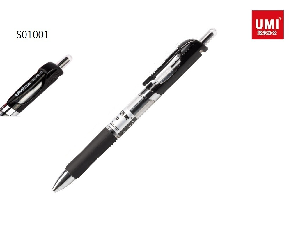 Umi - S01001D - Retractable Gel Pen 0.5mm