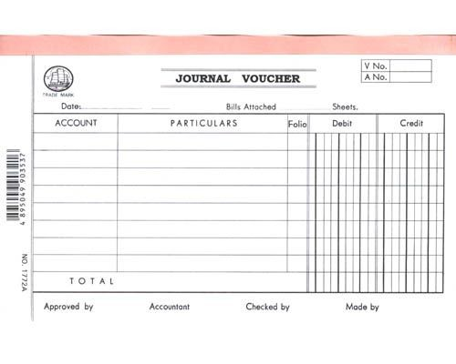 Account Voucher - 1772A - Journal Voucher