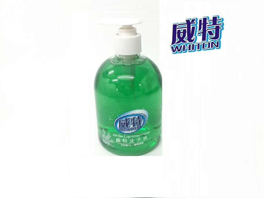 Whiton - Hand Liquid Soap (500ml / Green apple)