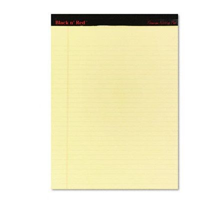 Oxford - 128Y - Yellow Line Writing Pad A4