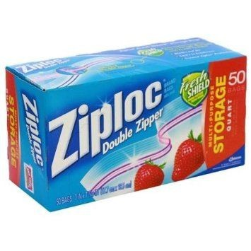 Ziploc - Storage Bag Quart  50s