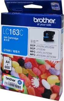 Brother LC-163 Ink (High Capacity) <Cyan>