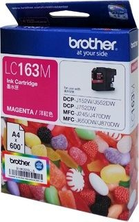 Brother LC-163 Ink (High Capacity) <Magenta>