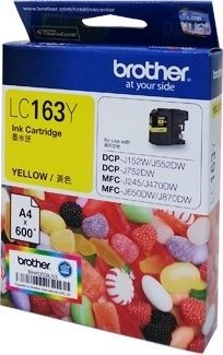 Brother LC-163 Ink (High Capacity) <Yellow>