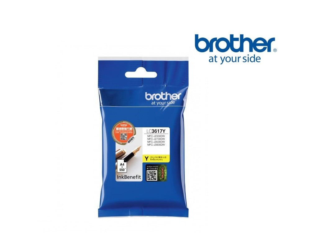 Brother LC3617 Ink <Yellow>