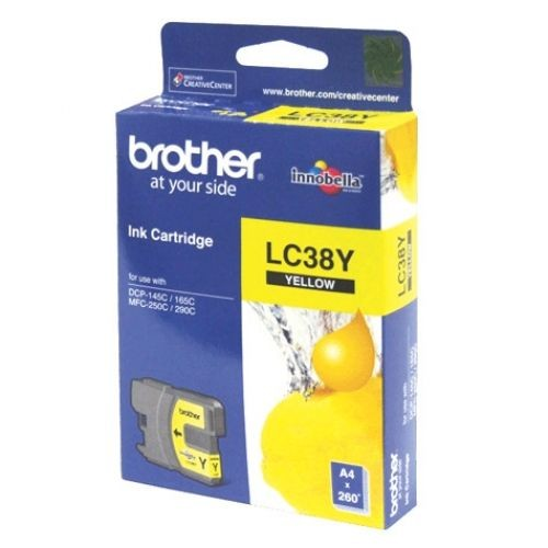 Brother LC-38 Ink <Yellow>