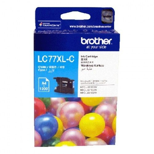 Brother LC-77XL Ink <Cyan>