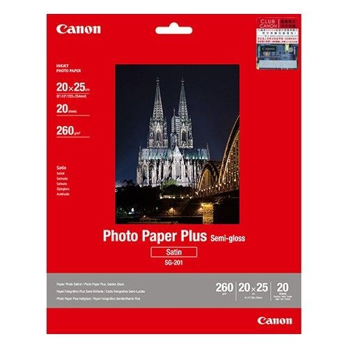 Canon SG-201 8R Photo Paper Plus Semi-Glossy