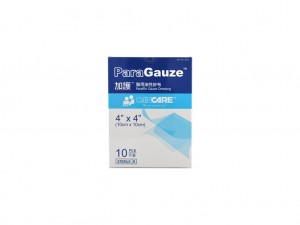 Cancare - Paraffin Gauze 4x4in 10s