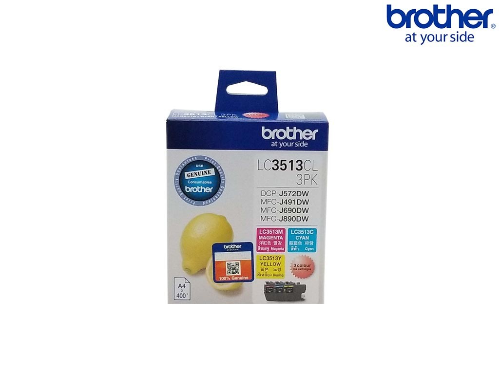 Brother LC-3513CL-3PK 墨盒